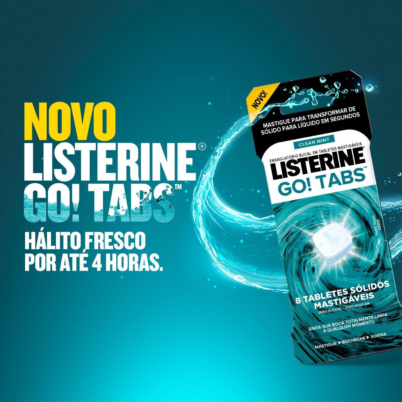 NOVO LISTERINE® GO! TABS™
